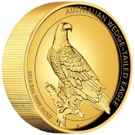 5 Unze Gold Wedge-Tailed Eagle PP mit Box 2016
