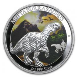 1 Unze Silber Muttaburrasaurus  Age of Dinosaurs