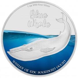 1 Unze Silver Blauwal