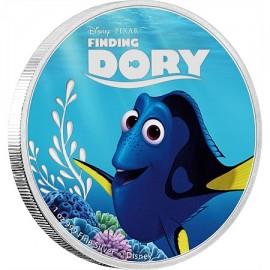 5 x 1 Unze Silber Finding Dory 2$ Niue