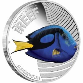 1/2 oz silver Sea Life II