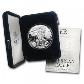 1 Unze oz Silber American Eagle PP Proof