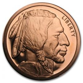 1 oz Copper Pand Round