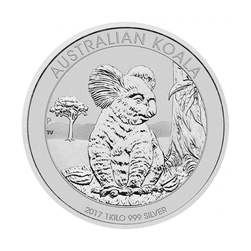 1kg Silber Koala 2017
