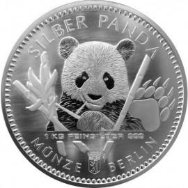 1 Kilo Silber Berliner Coin Panda 2017