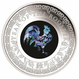 1 Unze Silber Lunar Opal Serie Hahn Rooster