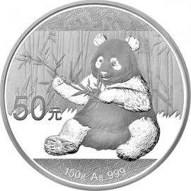 150 g Silber China Panda 2017 PP
