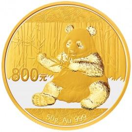 50 g China Panda Goldmünze 2016