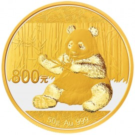 50 Gramm China Panda Goldmünze 2016 BOX