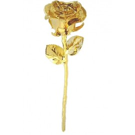 Goldrose Echte Rose mit 24K Gold veredelt