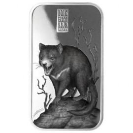 Cook Islands Tasmanischer Teufel Predators 1 Unze Silber  Barren