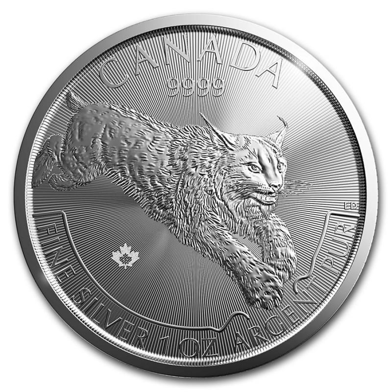 1 Unze Silber Luchs Lynx  2017 Predator Canada