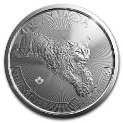 1 Unze Silver Lynx 2017