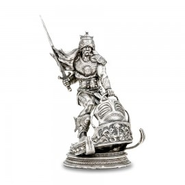 Silver Warrior 8 oz Silver