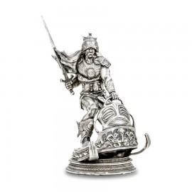 Silver Warrior 8 oz Silver