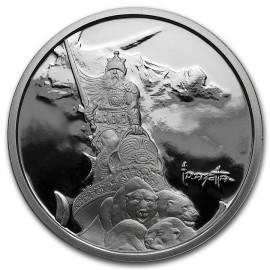 1 Unze Silber Krieger Silver Warrior Frank Frazetta PP