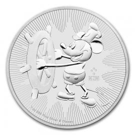 1 Unze Silber Mickey Steamboat Willie Disney 2017