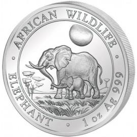 1 oz Somalia Elefant 2011