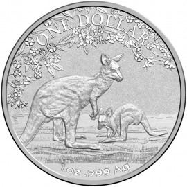 1 Unze Silber Känguru  Seasons Change im Blister  Kangaroo