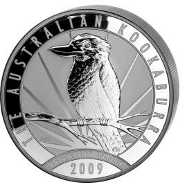 1kg Silber Kookaburra 2009