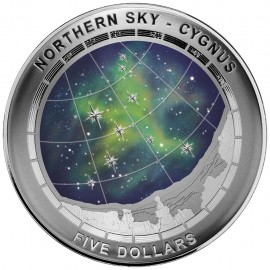 1 oz silver northern sky