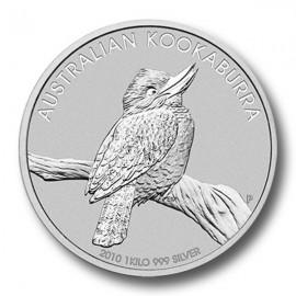 1 Kg Silber Kookaburra 2010