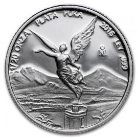 1/20 Unze Silber Mexiko Libertad 2015