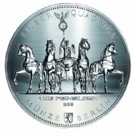 1 kg Silber Germania  Quadriga 2017 999,99
