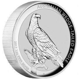 1 Unze Silber Wedge-Tailed Eagle PP 2017 High Relief