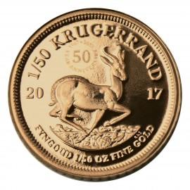 1/50 oz Unze Gold Krügerrand 2017 50 Jahre Jubiläum PP