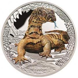 1 Unze Silber Goanna Perth Mint - 1 OZ  2016 Tuvalu