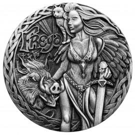 2 Unzen Silber Freya PP  North Godesses