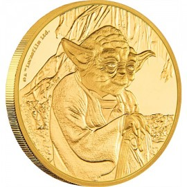 1  oz Gold Yoda Star Wars  PP  Gold 2016