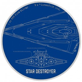 1 Unze Silber Millennium  Falke Star Wars Ships Niue