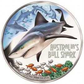 1 oz Silver shark 2017