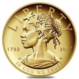 1 oz Gold American Black Liberty PP 2017