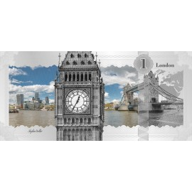 1$ 2017 Cook Islands - Skyline Dollar - London  5 g Silber