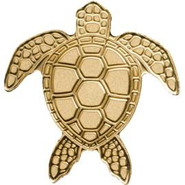 0,5 g Gold Turtle Palau Schildkröte