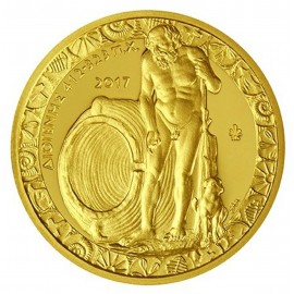 200 Euro Gold 2017 Diogenes Griechenland in PP