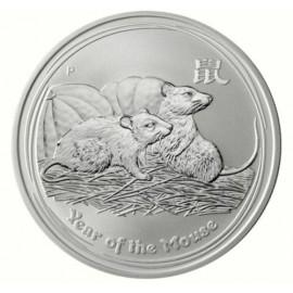 1 kg Silber Lunar 2 Maus 2008