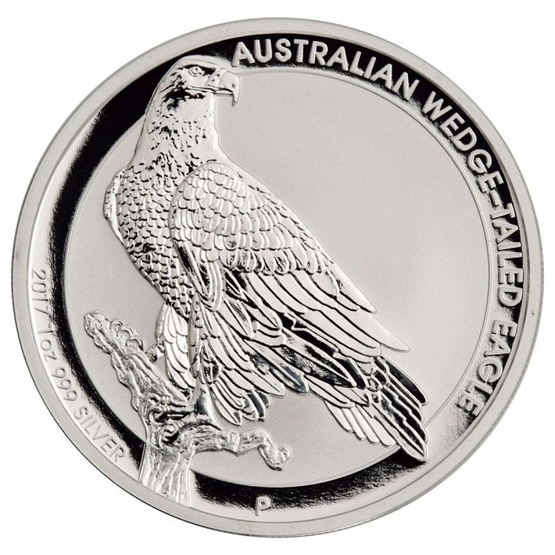 1 Unze Silber Wedge-Tailed Eagle 2017