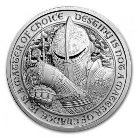 2 Unzen Silber Destiny Knight Ultra High Relief