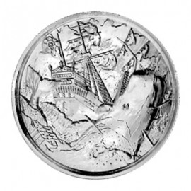 2 Unzen Silber Ultra High Relief  White Whale