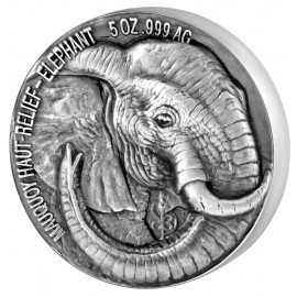 5 oz Big Five elephant