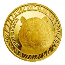1/4 oz Gold Korean Tiger 2016  Box