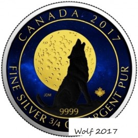 Kanada 3/4 Unze Silber...