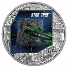 1 Unze Silber Canada Star Trek STAR TREK™ - THE BORG - 1 OZ  THE NEXT GENERATION