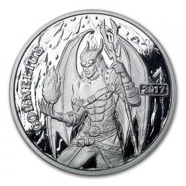 1 oz silver round Sioux