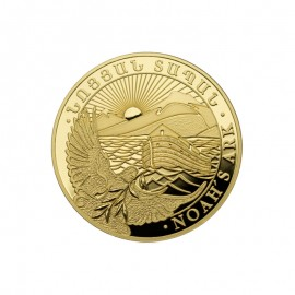 1/4 oz  Gold Arche Noah  Goldmünze 2017 PP