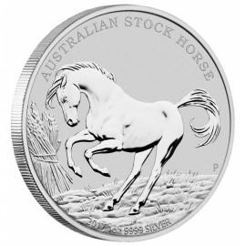 1 Unze Silber Stock Horse 2017